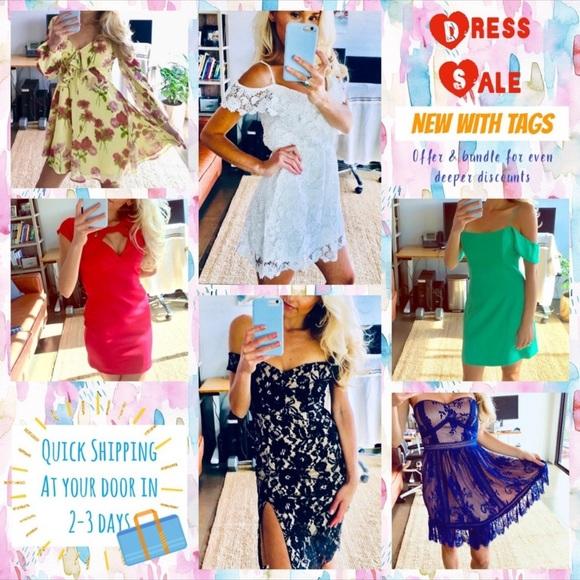 Dresses & Skirts - SHOW ME YOUR MUMU, LULU's, BB DAKOTA & MORE!